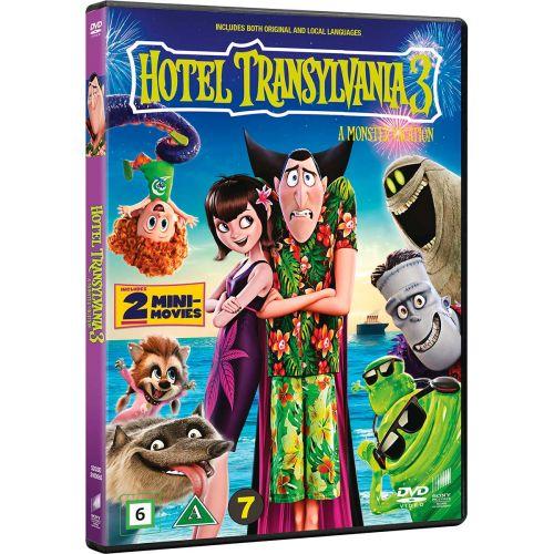 DVD HOTEL TRANSYLVANIA 3 A MONSTER VACATION