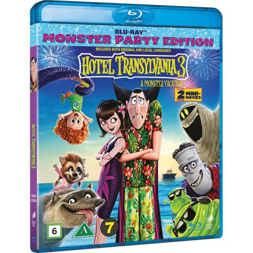 BD HOTEL TRANSYLVANIA 3 A MONSTER VACATION