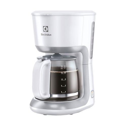 Electrolux kahvinkeitin 1,65L EKF3330, valkoinen