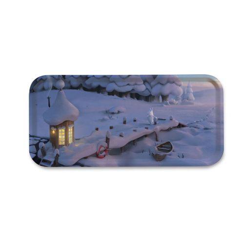 Moomin tarjotin 32x15cm Snowbridge