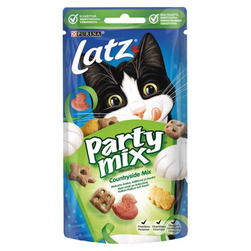 PURINA LATZ PARTY MIX COUNTRY SIDE MIX 60 G
