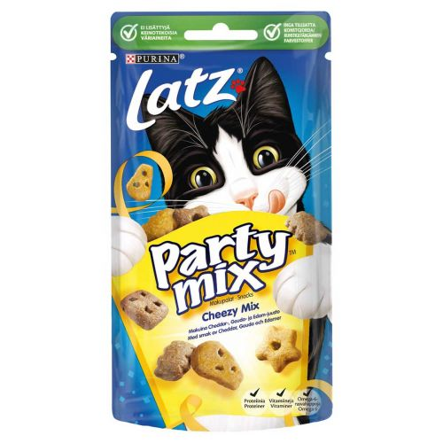 PURINA LATZ PARTY MIX CHEEZY MIX 60 G