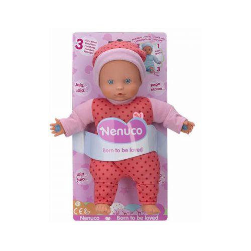 Nenuco Soft 3 toimintoa nukke