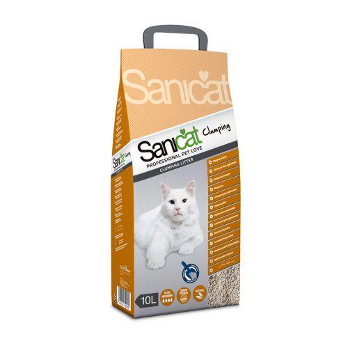 Sanicat Clumping kissanhiekka 10 L