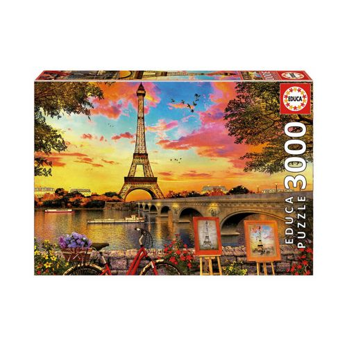 Educa 3000 palaa Sunset In Paris