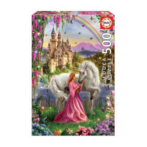 Educa 500 palaa Fairy And Unicorn