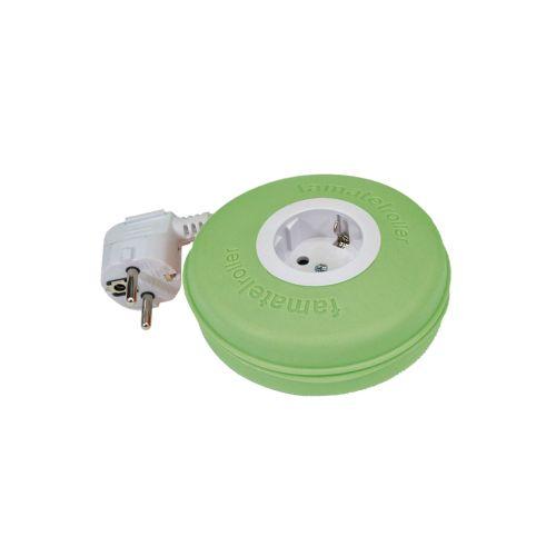 Famatel johtokela 1-pistor vihreä 2m 3x1,5