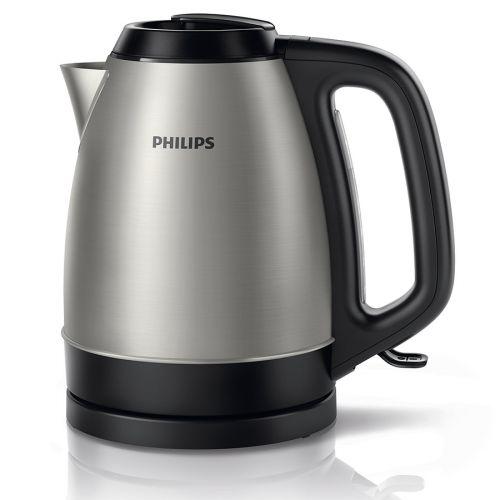 PHILIPS HD9305/20 VEDENKEITIN 1,5L, 2200W MUSTA/METALLI