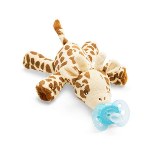 Avent Snuggle pehmoeläin Ultrasoft-tutilla kirahvi