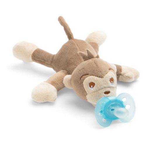 Avent Snuggle pehmoeläin Ultrasoft-tutilla apina