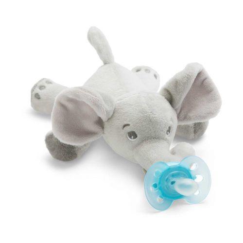 Avent Snuggle pehmoeläin Ultrasoft-tutilla elefantti