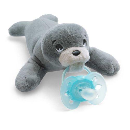 Avent Snuggle pehmoeläin Ultrasoft-tutilla hylje