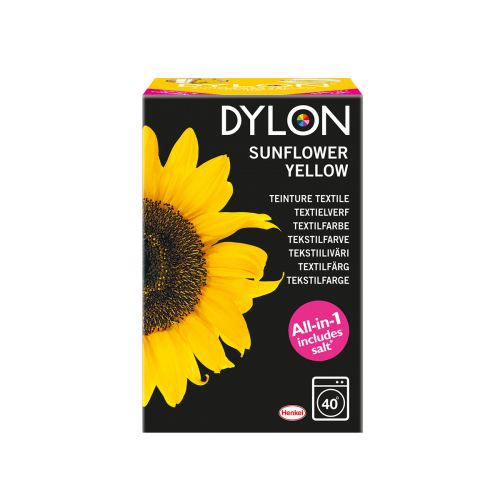 DYLON SUNFLOWER YELLOW TEKSTIILIVÄR 350 G