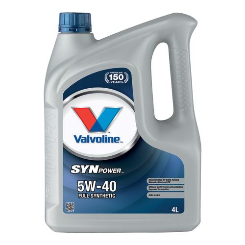 VALVOLINE SYNPOWER 5W-40  4 L