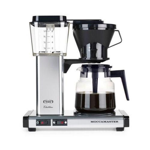 Moccamaster KB952 kahvinkeitin, hopea