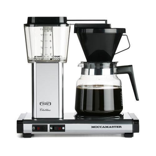 Moccamaster K942 kahvinkeitin, hopea