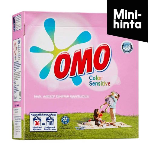 OMO SENSITIVE COLOR  1,26KG  1,26 KG