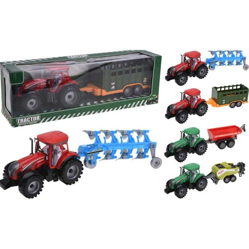 Traktori trailerilla 45cm