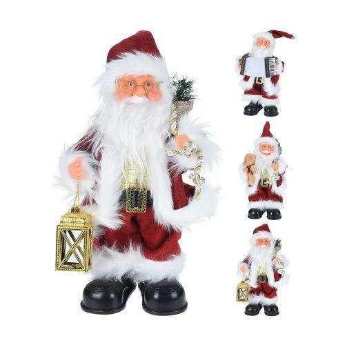 Joulupukki tanssiva 28cm