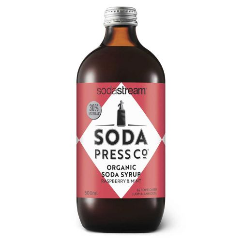 SODASTREAM SODAPRESS JUOMATIIVISTE RASPBERRY & MINT 500ML 500 ML