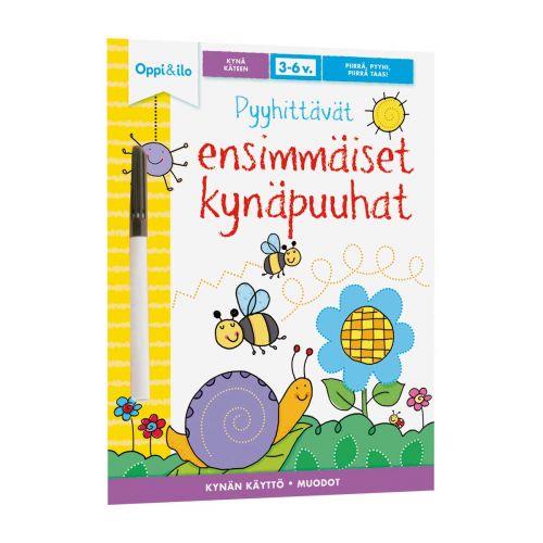 Oppi ja Ilo -puuhakirja, Pyyhittävät ensimmäiset kynäpuuhat 3-6v