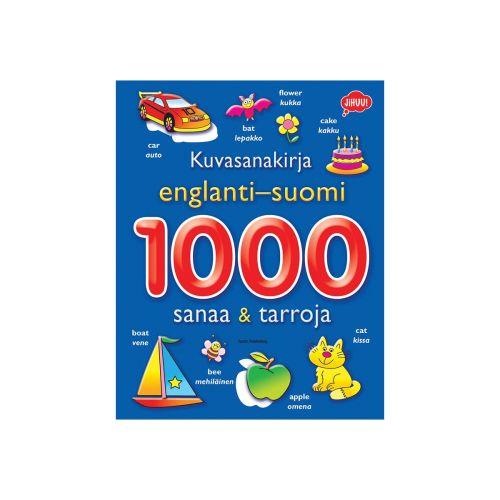 Tactic Kuvasanakirja englanti-suomi: 1000 sanaa ja tarroja oppimiskirja