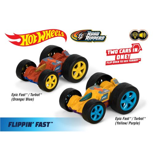 Road Rippers Hot Wheels Flip N Fast flippiauto