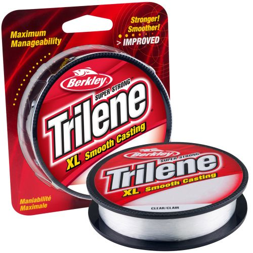 BERKLEY TRILENE XL 0,22MM 270M CLEAR