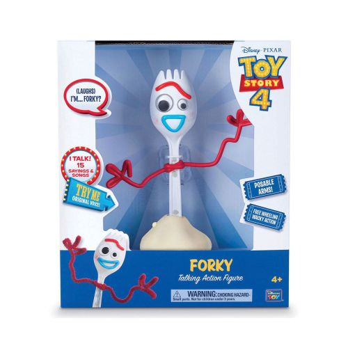 Toy Story puhuva Forky (ENG)