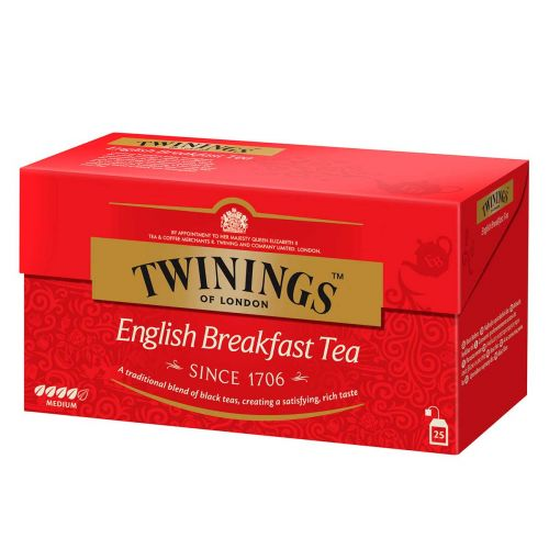 TWININGS ENGLISH BREAKFAST TEE 25PS 50 G