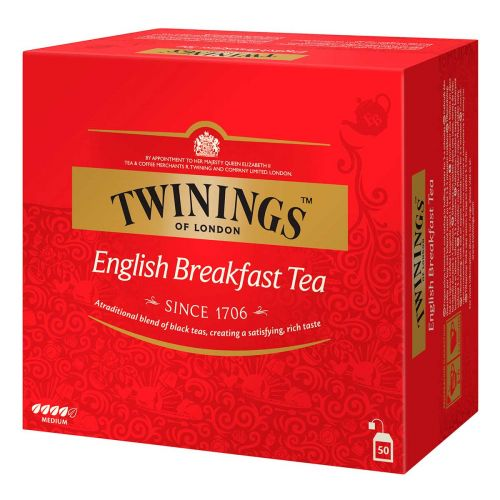 TWININGS ENGLISH BREAKFAST TEE 50PS 100 G