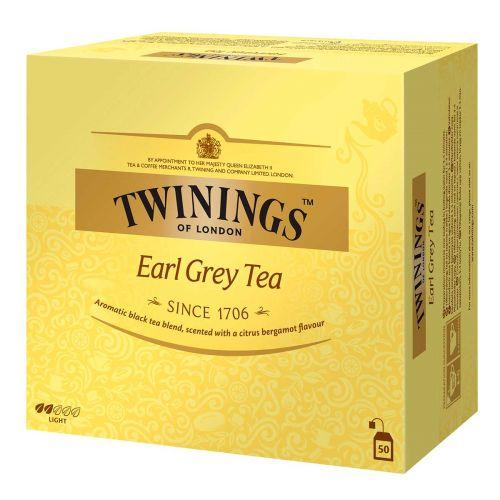 TWININGS EARL GREY TEE 50PS  100 G
