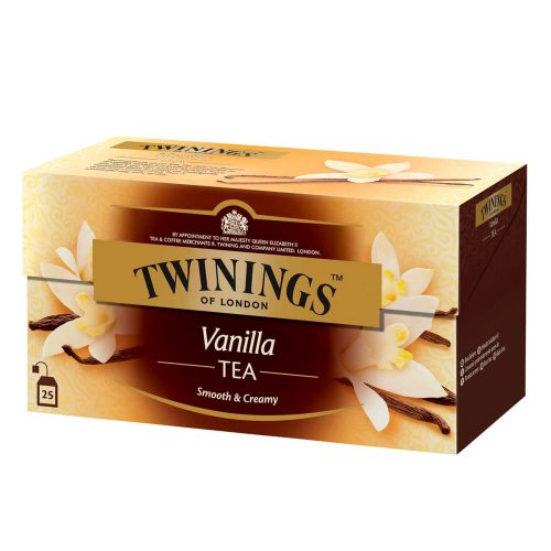TWININGS VANILJA TEE 25PS  50 G