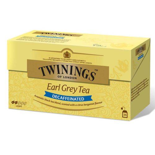 TWININGS EARLGREY KOFFTON TEE 25PS 50 G