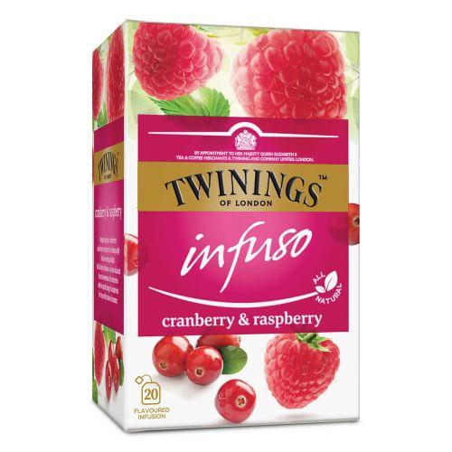 TWININGS INFUSO CRANBRASPB TE 20PS 40 G