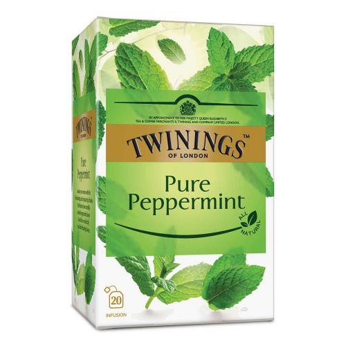 TWININGS PURE PEPPERMI TE 20PS  40 G