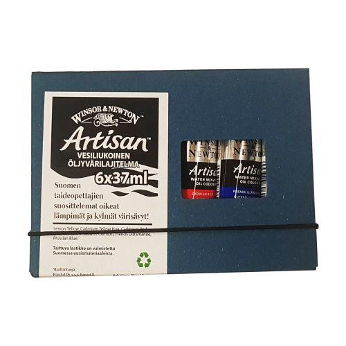 W&N Artisan 6x37ml - Suomen Värisävyt!