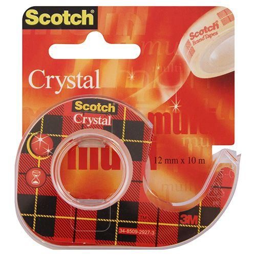 SCOTCH 6-1210D CRYSTAL TEIPPI 12MMX10M KATKOJALLA