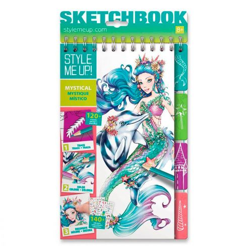STYLE ME UP STYLE ME UP SKETCHBOOK MYSTICAL