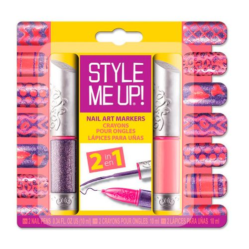 Style Me Up Nail Art Markers Duo