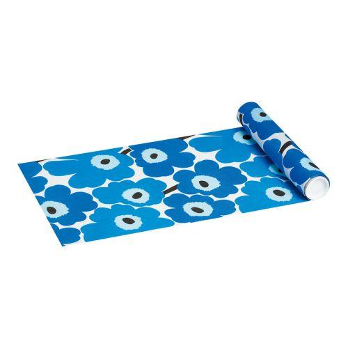 Marimekko kaitaliina 33cmx4,8m Unikko blue