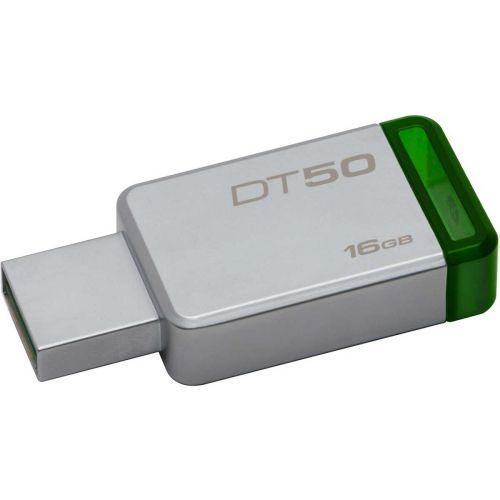KINGSTON USB3.0 MUISTITIKKU 16GB DATATR50 METAL/GREEN