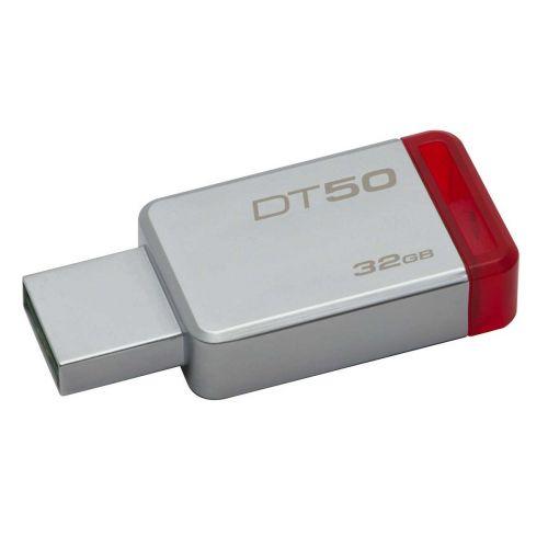 KINGSTON USB3.0 MUISTITIKKU 32GB  DATATR50 METAL/RED