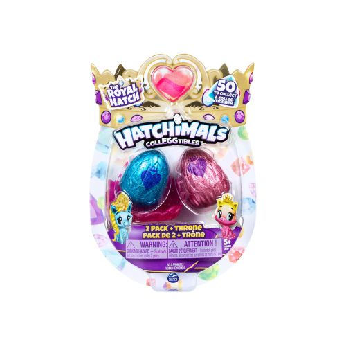 HATCHIMALS COLLEGGTIBLES S6 2-PK PESÄ