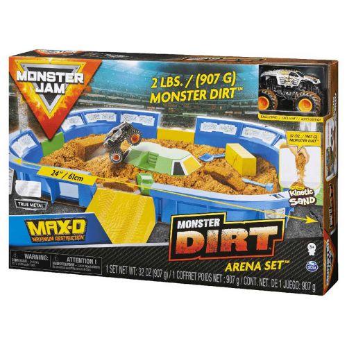 Monster Jam Monster Dirt areena leikkisetti