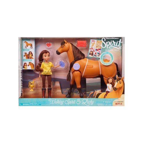Spirit Deluxe Kävelevä hevonen ja tyttö