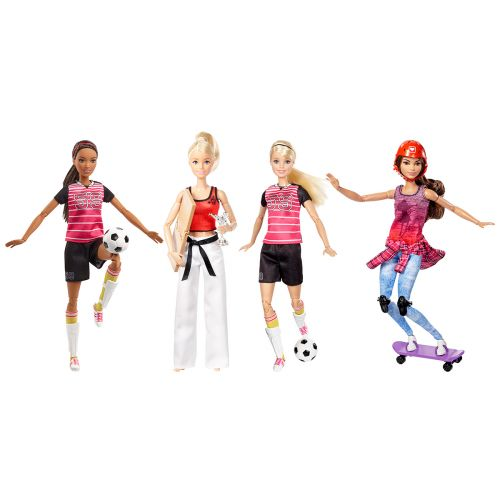 Barbie sporttinukke