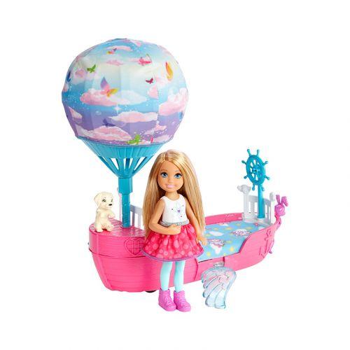 Barbie Chelsean ajoneuvo