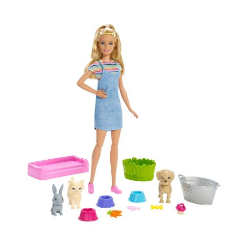 Barbie Play And Wash Pets lemmikkisetti