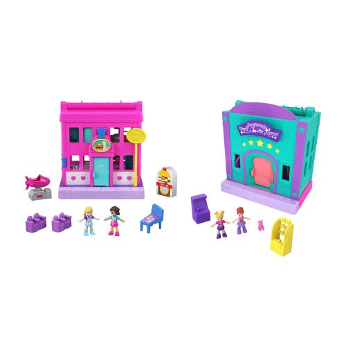 Polly Pocket Pollyville Stores